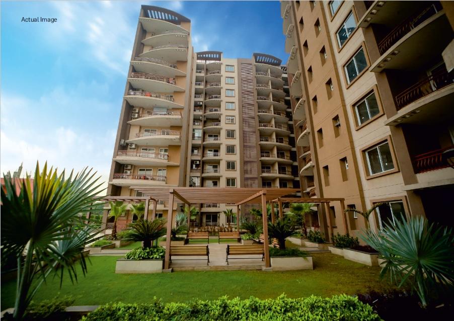 r m krishna avenue project tower view1