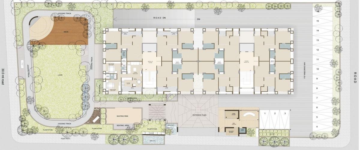 samved alpine heights project master plan image1