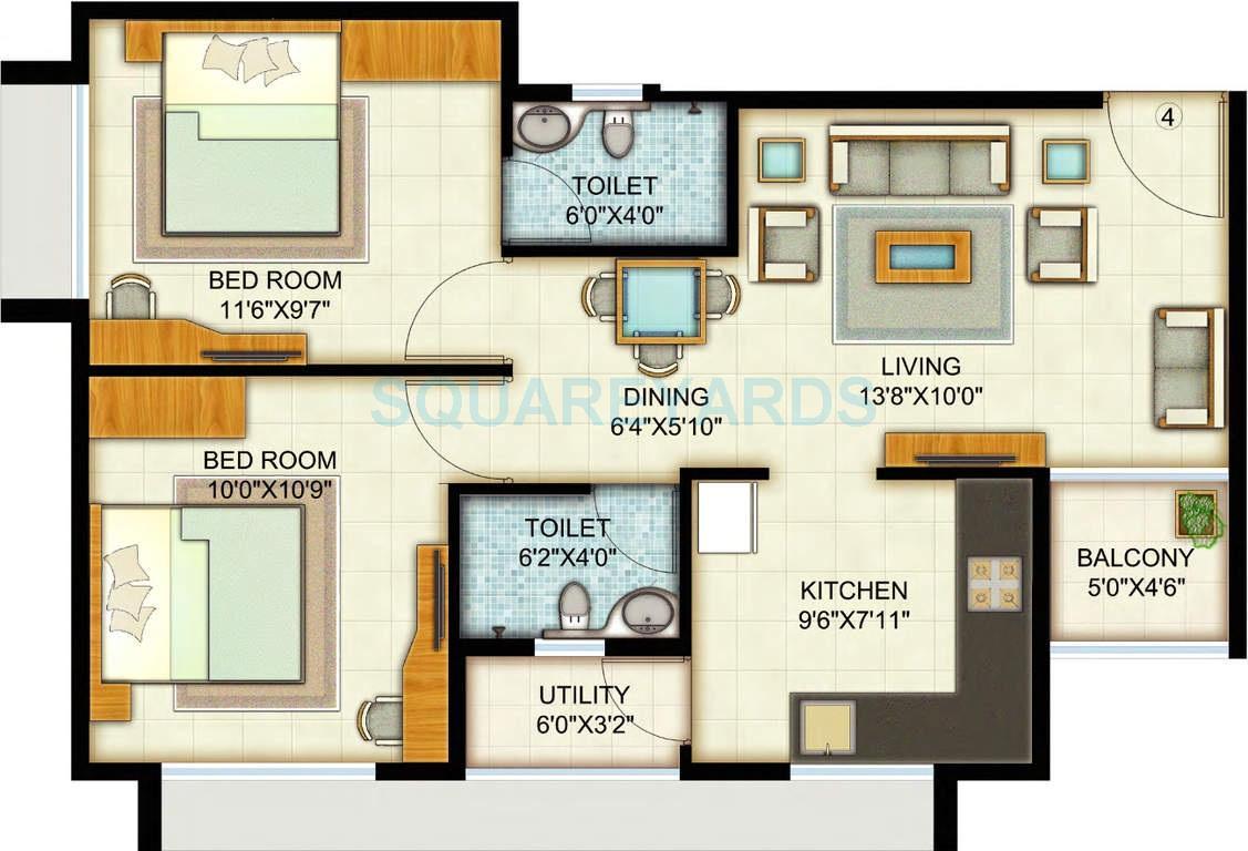 adani pratham apartment 2bhk 953sqft1