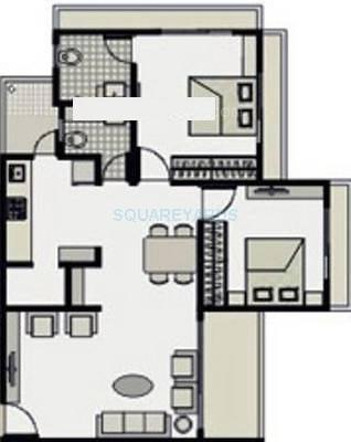 dharmadev neelkanth elegance apartment 2bhk 1305sqft1