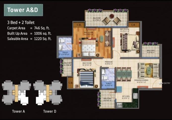 innovators solitaire valley apartment 3 bhk 1220sqft 20210214160227