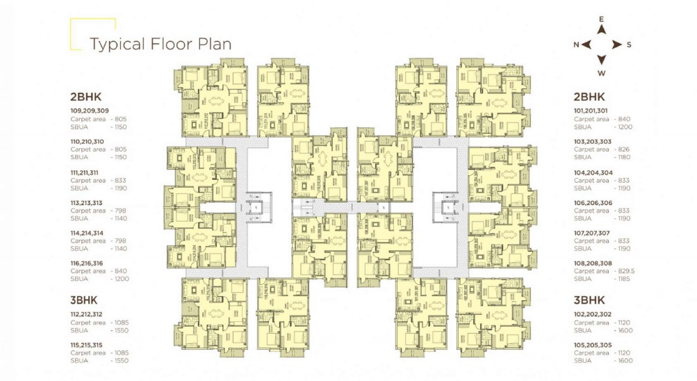 aaptha landmark project floor plans1