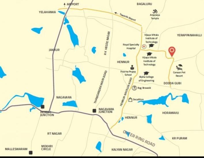 aaptha landmark project location image1