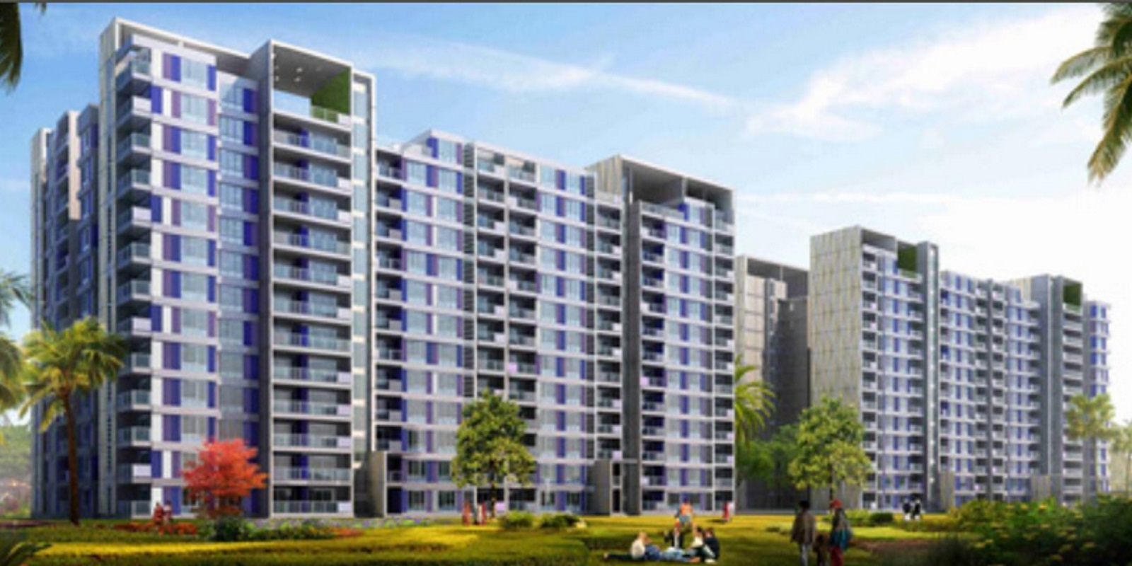 adarsh palm retreat tower ii project large image2