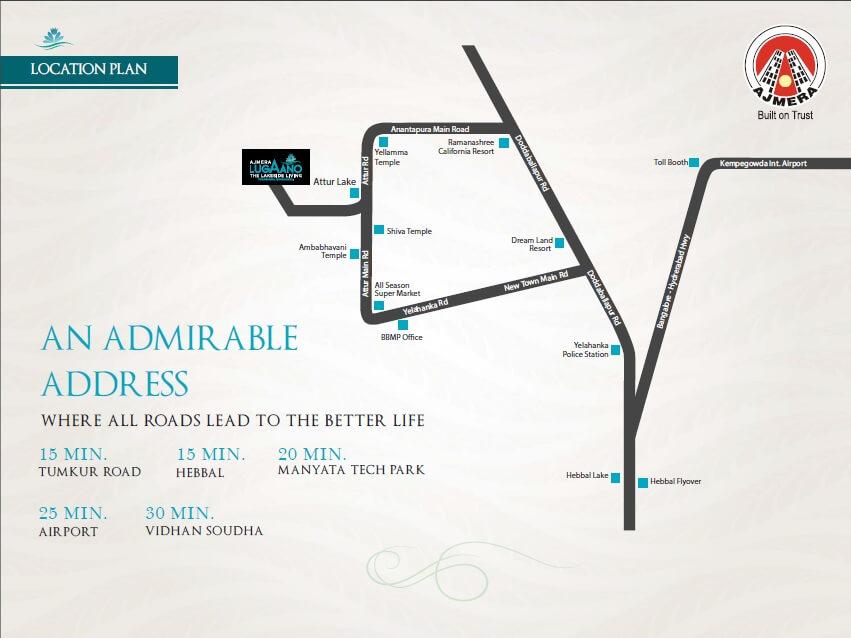 ajmera lugaano location image1