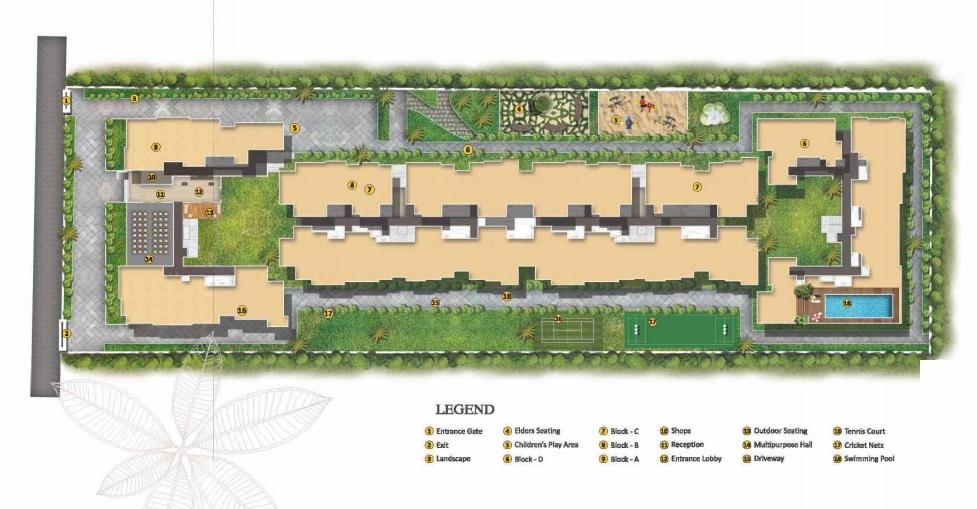 akshaya temple tree master plan image4