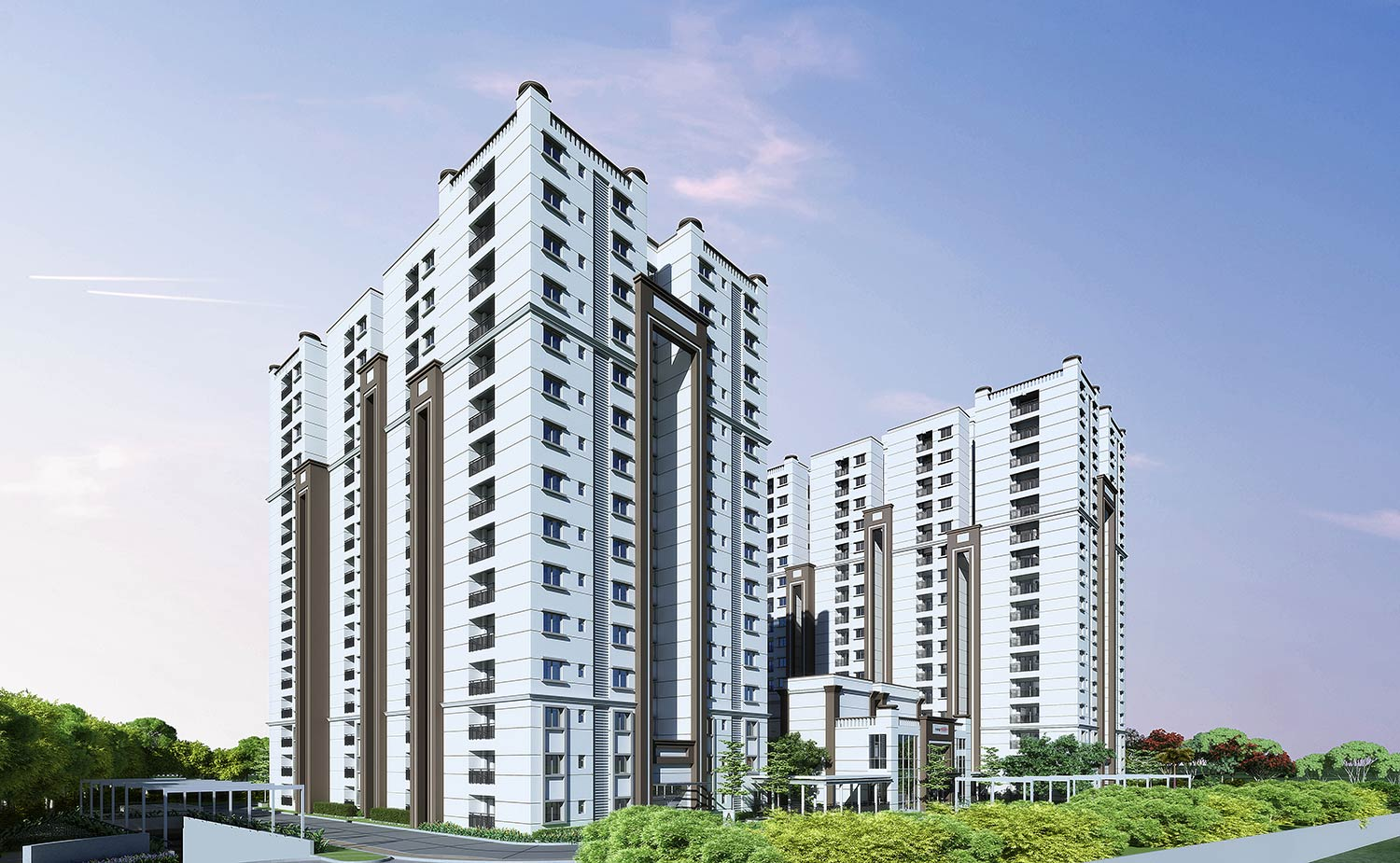 aparna maple project tower view4