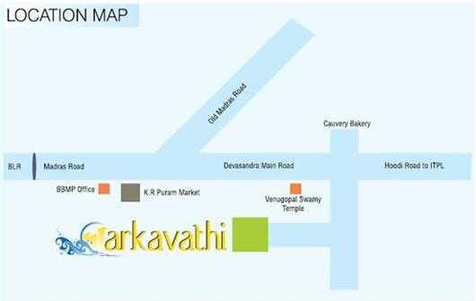 arvinds arkavathi project location image1