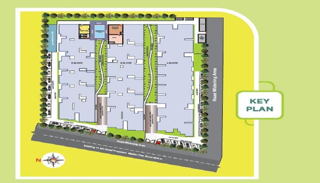 ashish green b block master plan image6