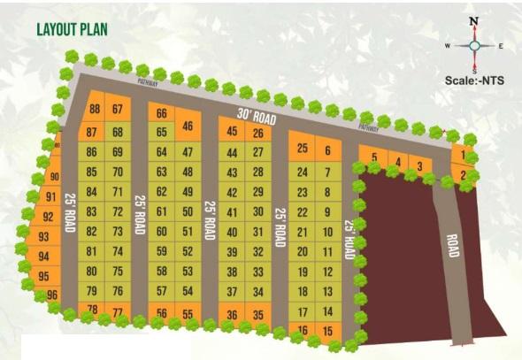 avighna msr enclave project master plan image1