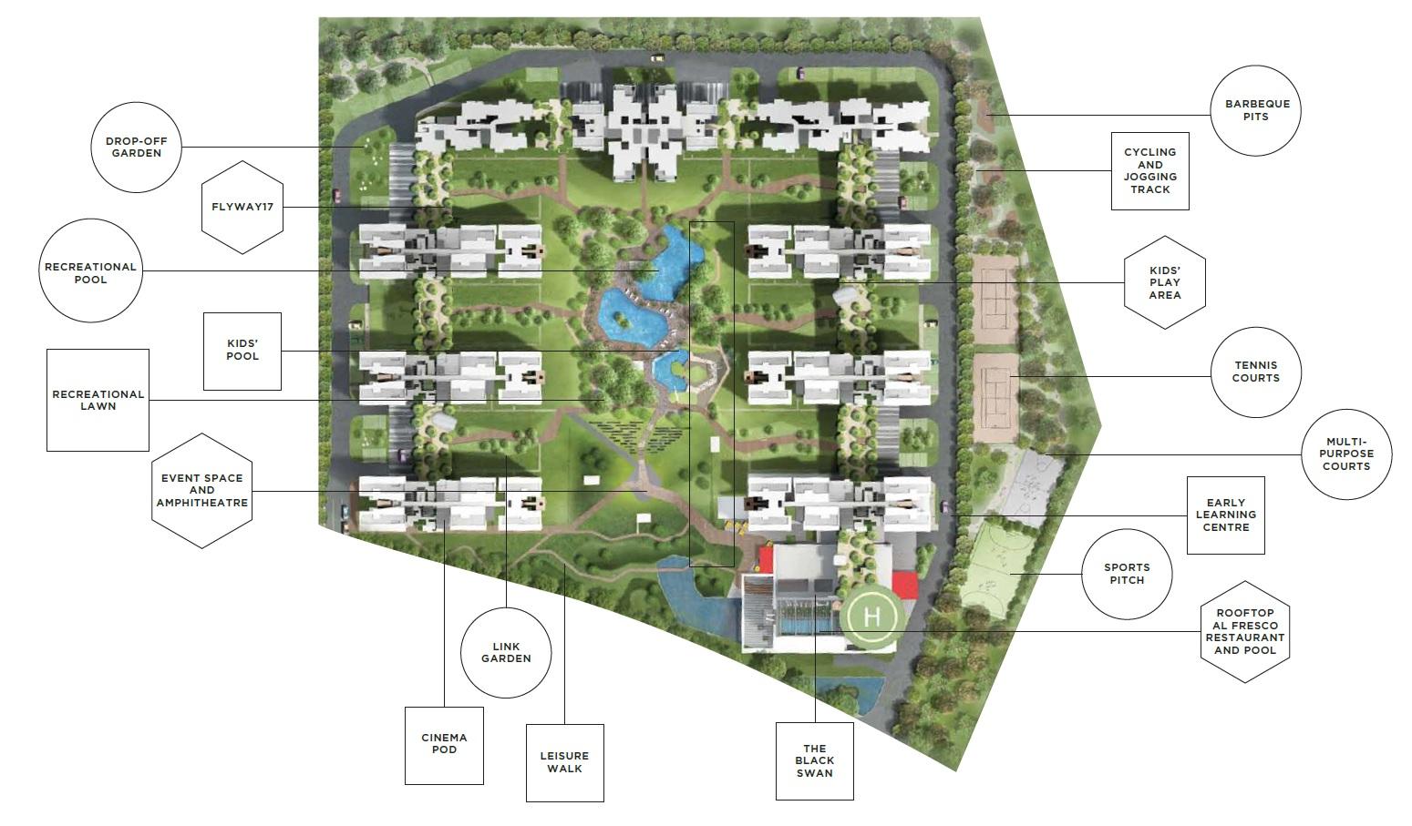 bhartiya nikoo homes master plan image3