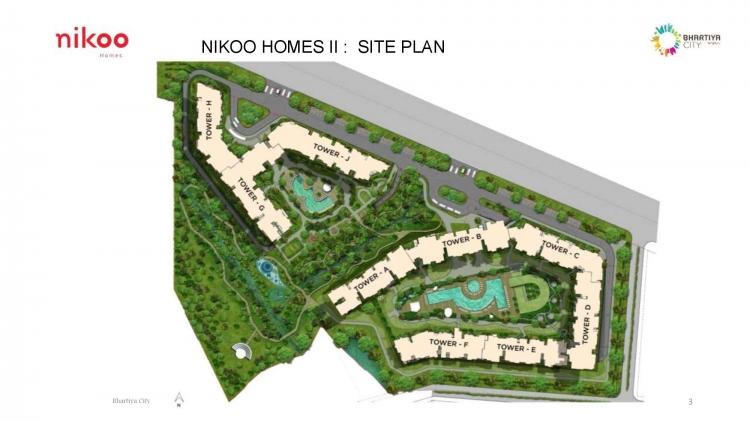 bhartiya nikoo homes phase 2 master plan image1