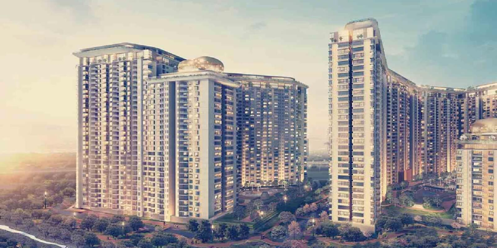 bhartiya nikoo homes tower view1