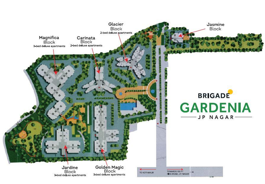 brigade gardenia project master plan image1