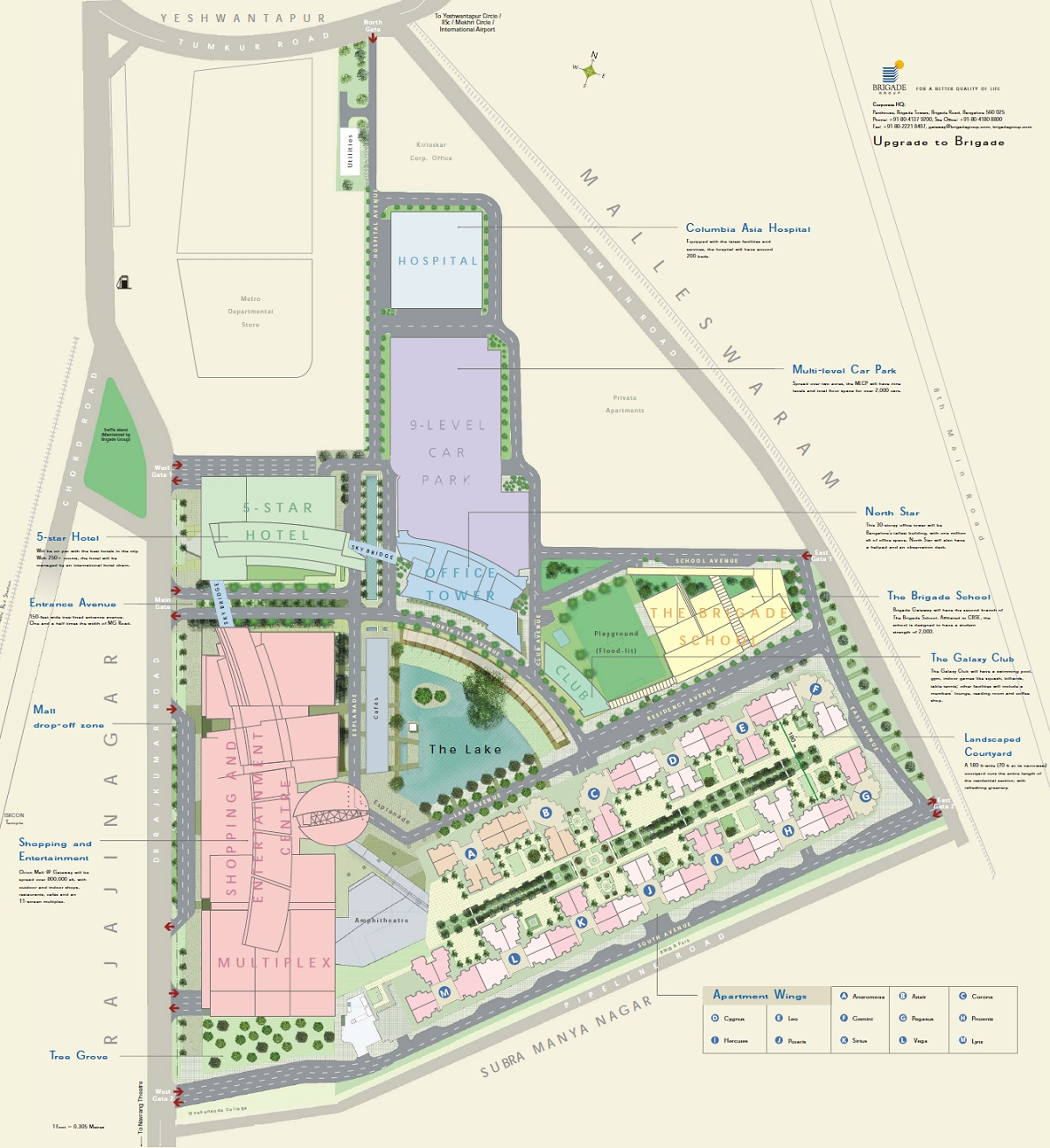 brigade gateway enclave project master plan image1