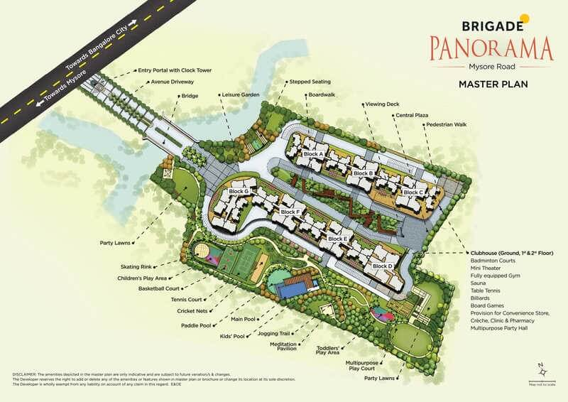 brigade panorama master plan image1