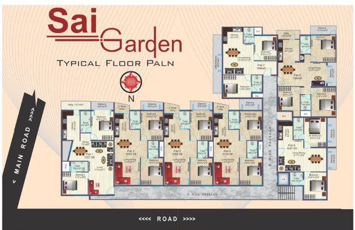 bsr sai gardens master plan image7