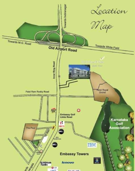 buildafina golf view location image6