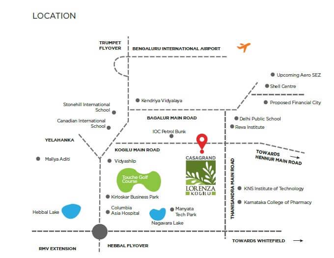 casagrand lorenza location image1