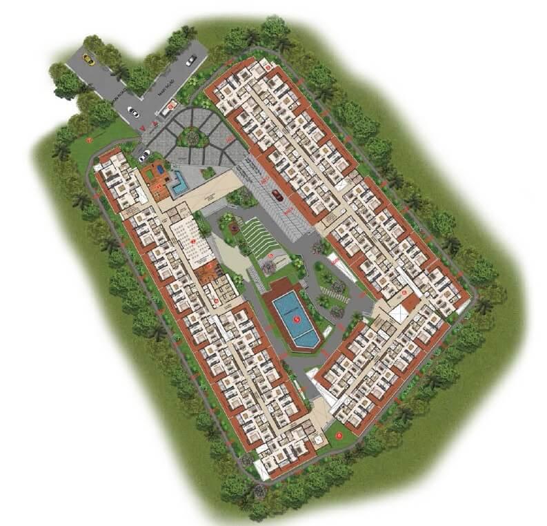 casagrand lorenza master plan image1