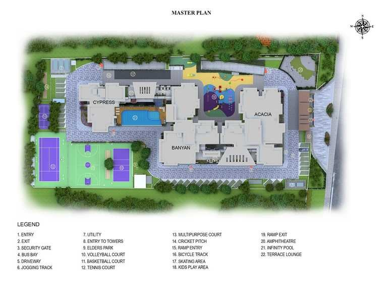 centreo  project master plan image1