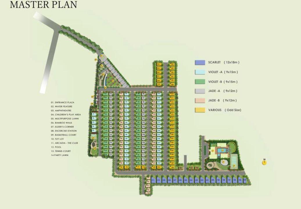 citrus casa greens bangalore project master plan image1