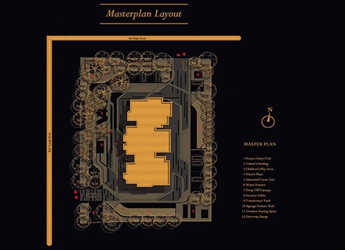 concorde luxepolis master plan image1