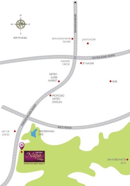 concorde napa valley location image1