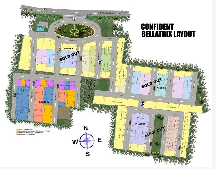 confident bellatrix phase i project master plan image1