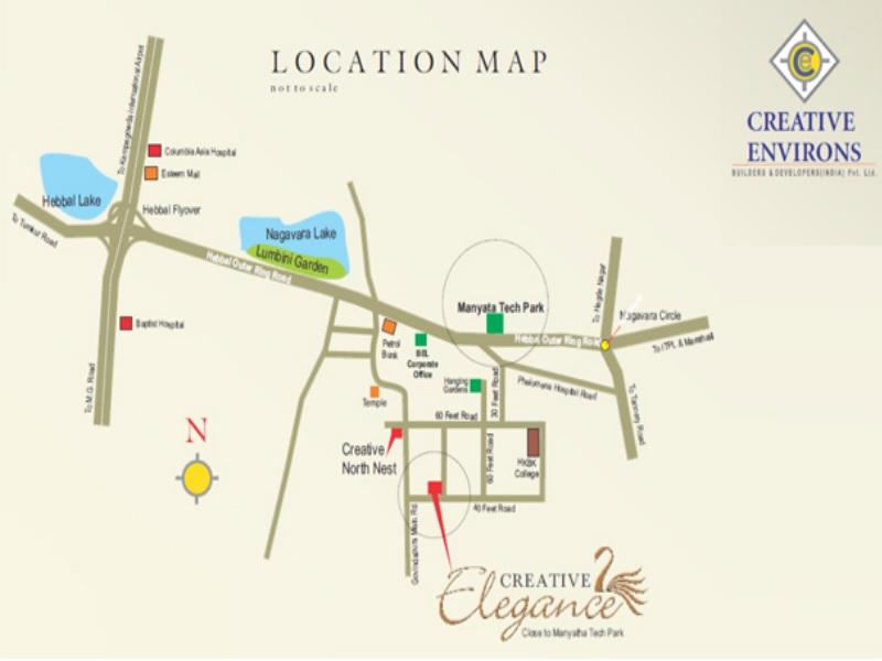 creative elegance nagavara location image4