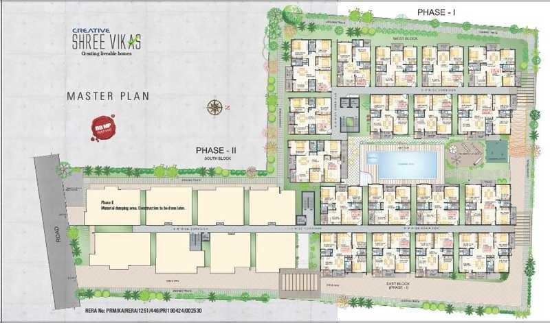 creative shree vikas project master plan image1