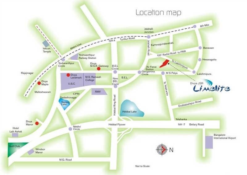 divya jsr limelite project location image1