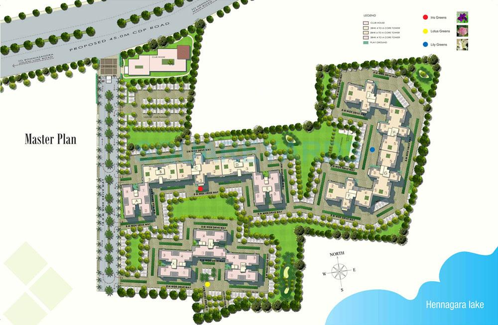 dlf maiden heights master plan image1