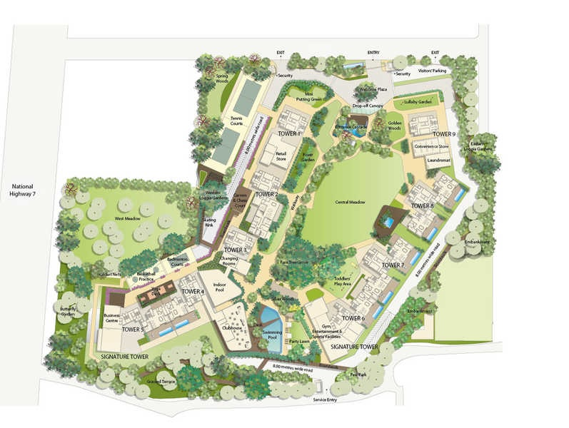 embassy lake terraces project master plan image1