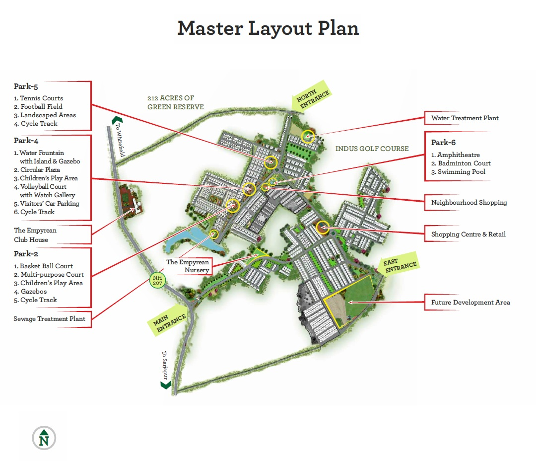 fire luxur the empyrean phase 1 master plan image6