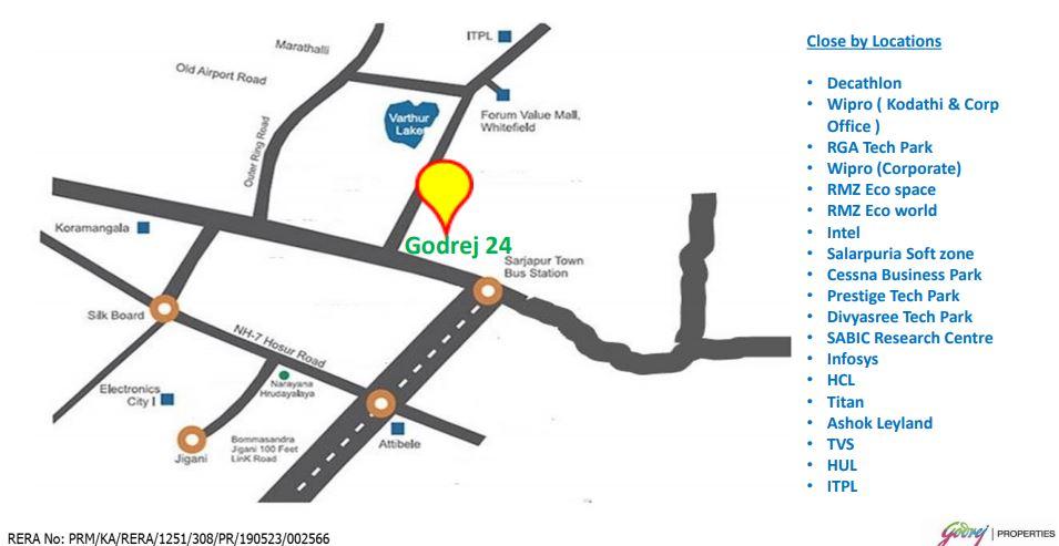 godrej 24 sarjapur location image1