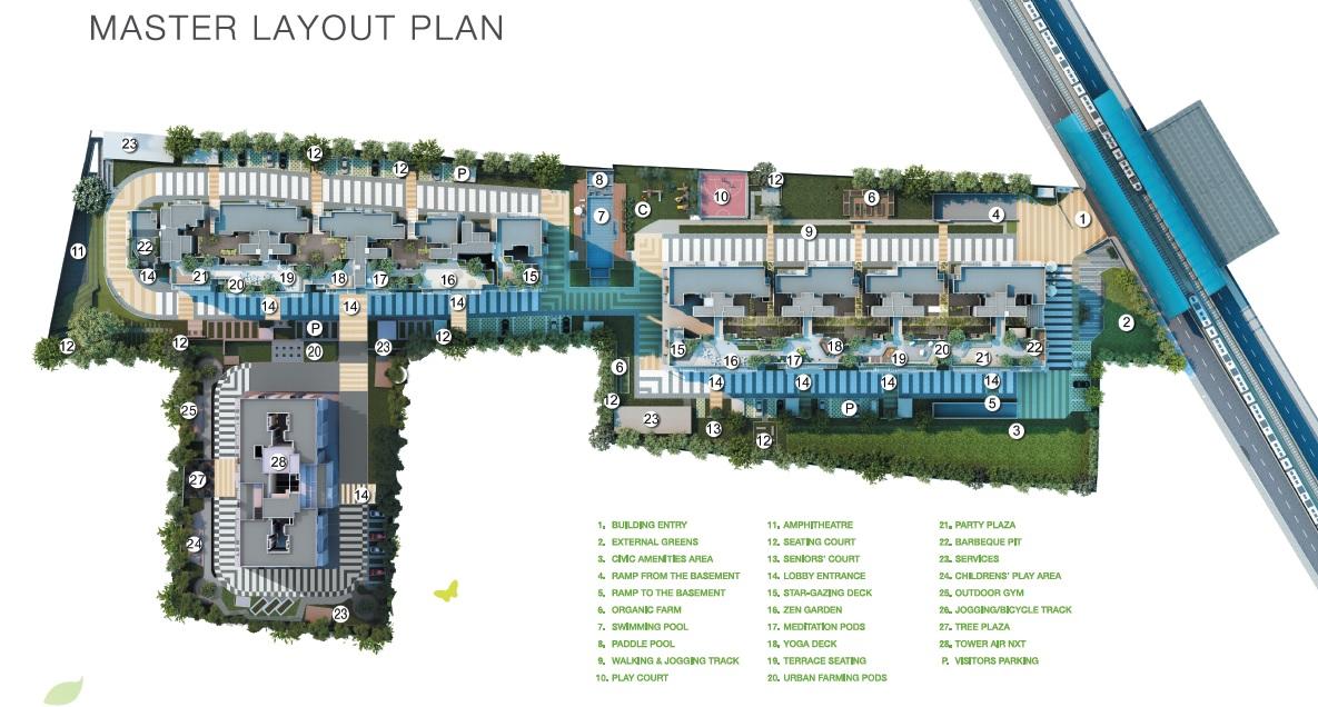godrej air nxt master plan image21