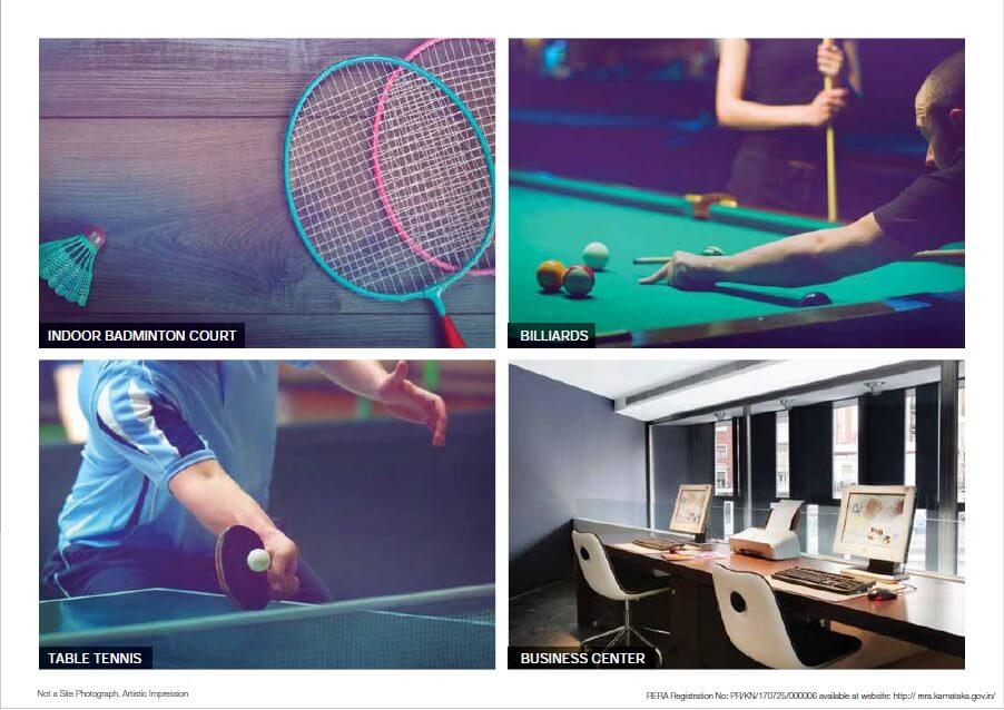 godrej air sports facilities image3