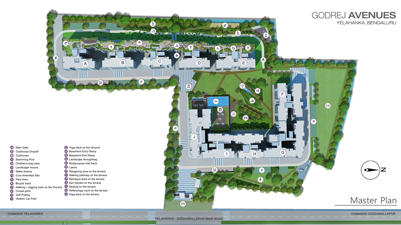 godrej avenues master plan image1