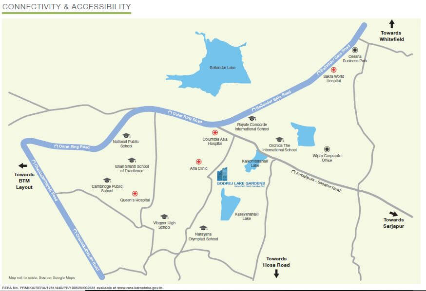 godrej lake gardens location image1