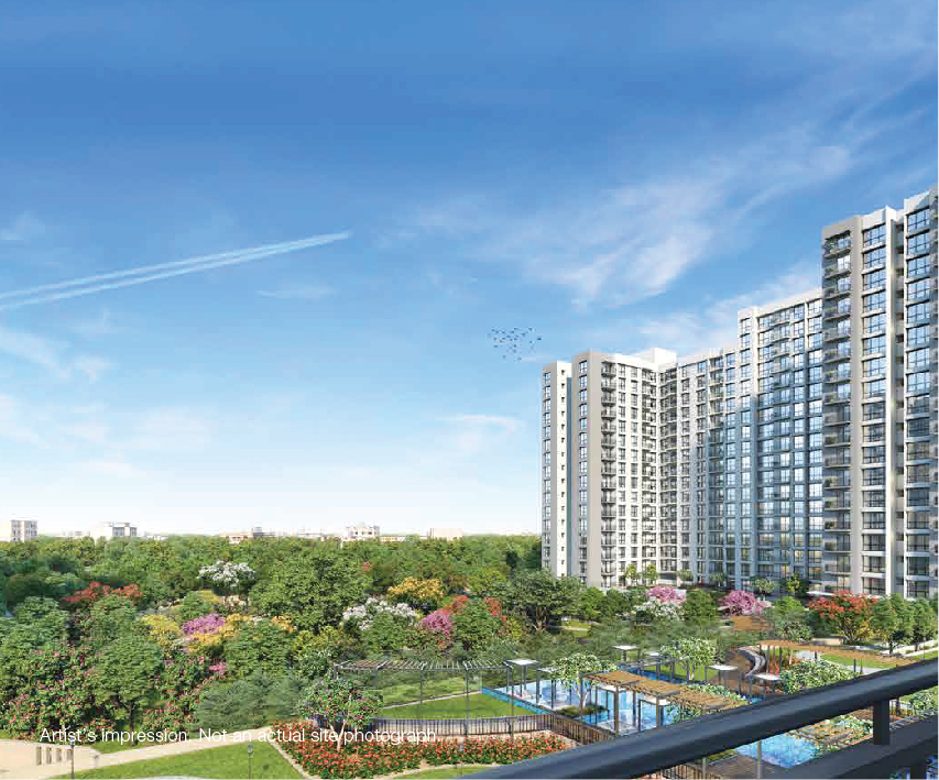 godrej royale woods project tower view4