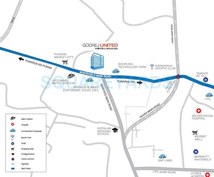 godrej united location image1