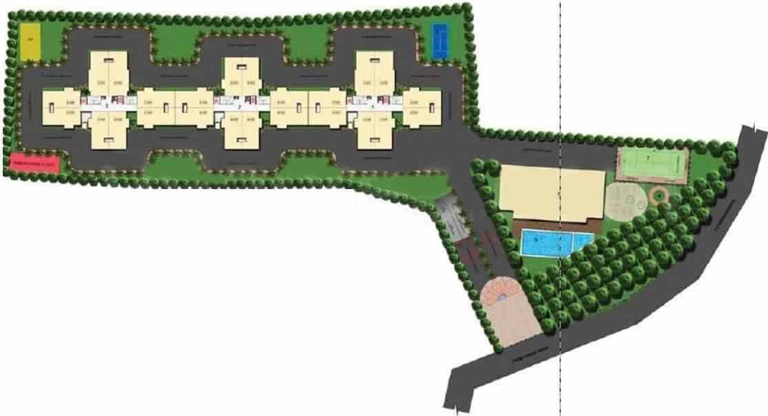 gopalan lake front master plan image1