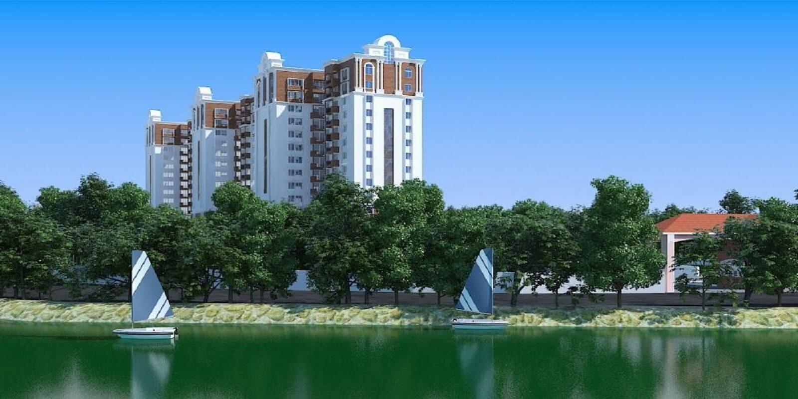 gopalan lake front project large image1