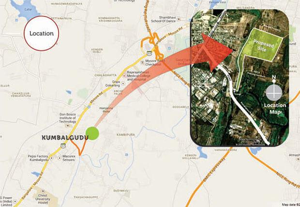 gopalan olympia location image1