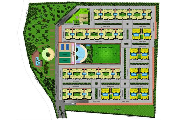 gopalan olympia master plan image1
