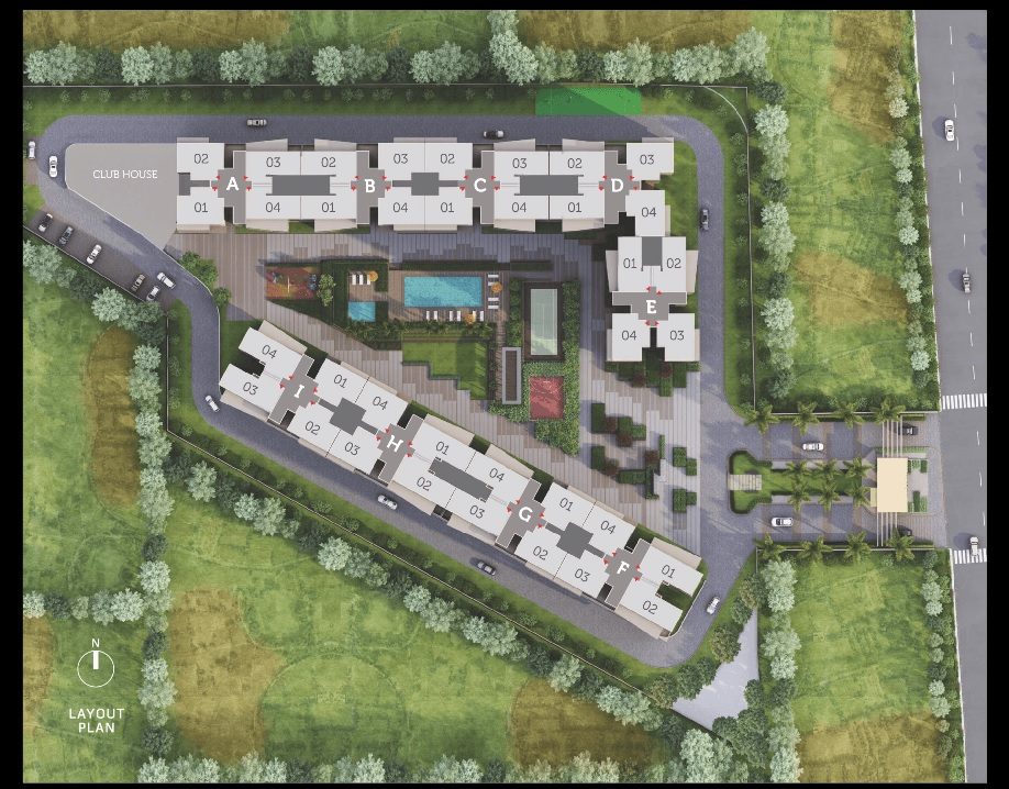 goyal orchid piccadilly master plan image1