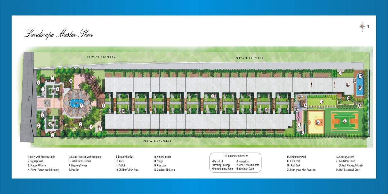 hinduja el jardin project master plan image1