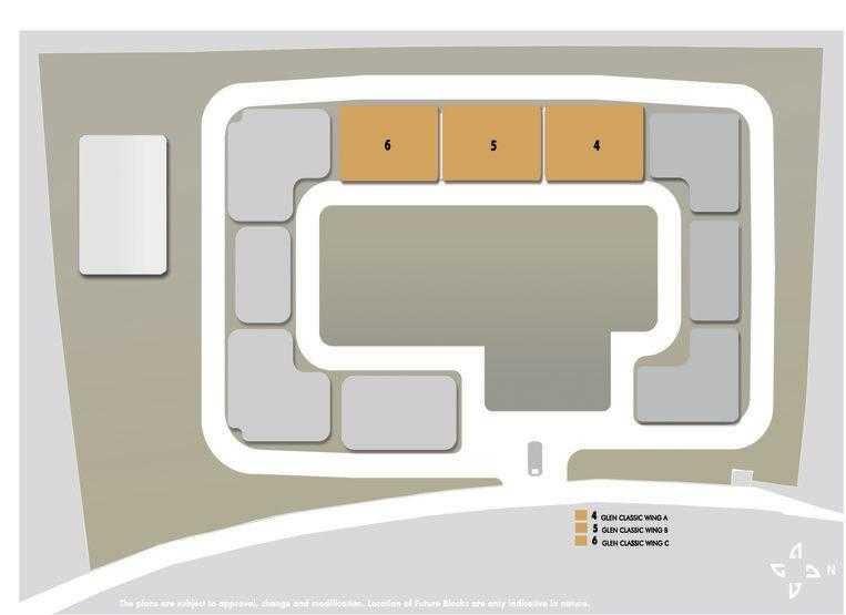 hiranandani glen classic master plan image1