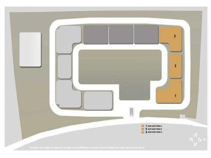 hiranandani glen gate project master plan image1